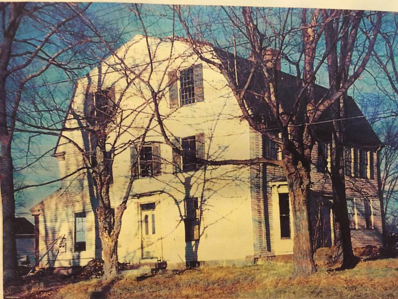 Waldo-Dole-Maxfield-Andrew-Ellingsworth House circa 1953. Stroudwater, Maine.