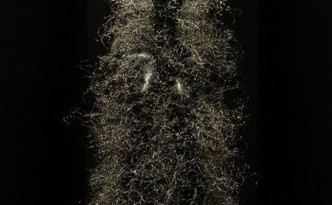 Particle dress, Iris van Herpen.