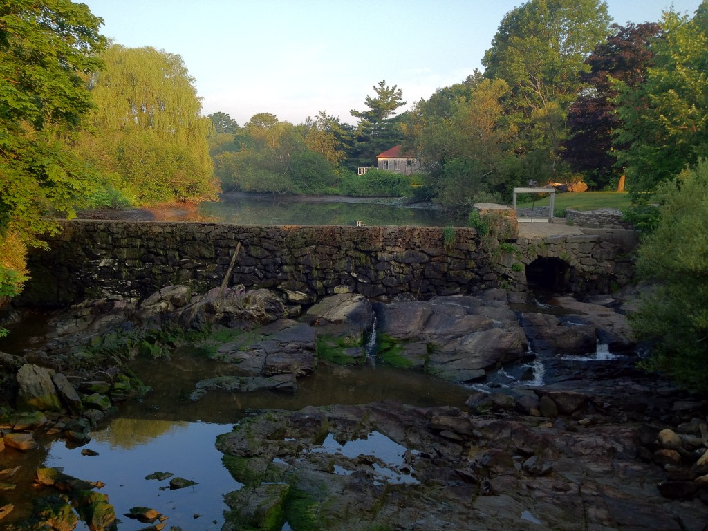 Tidal Mill at Stroudwater, Maine; July 17, 2012.