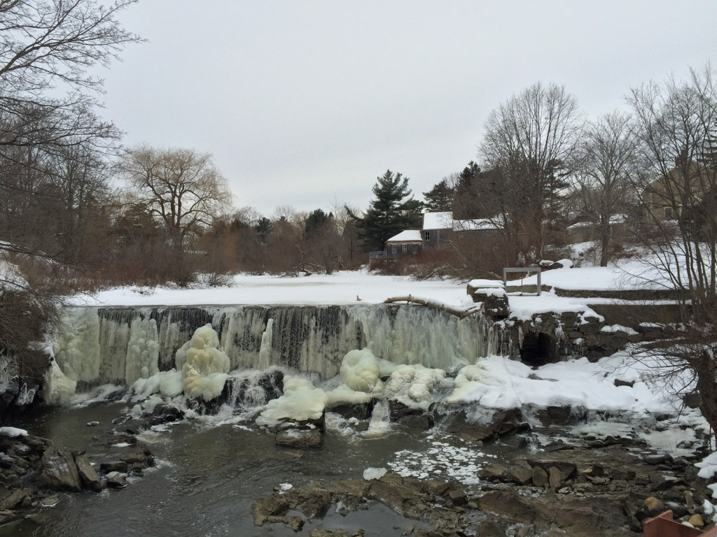 Tidal Mill at Stroudwater, Maine. January 23, 2016
