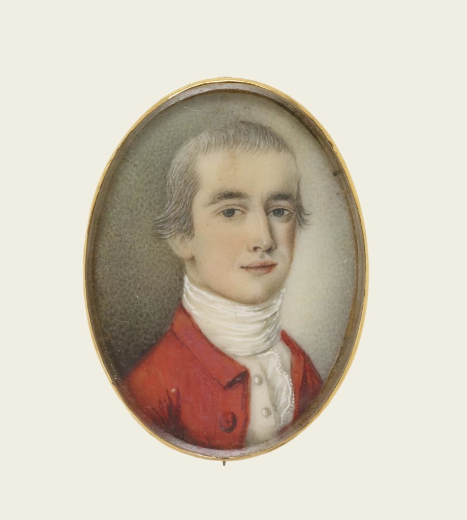 Portrait of Colonel Samuel Waldo, attributed to John Singleton Copley (American, 1738-1815)<sup>21</sup>