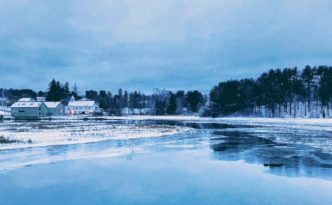 """Maine is a joy in the summer. But the soul of Maine is more apparent in the winter."" Paul Theroux"