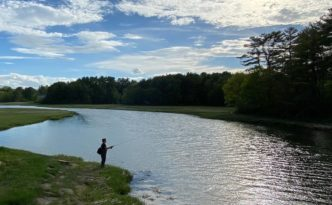 #flyfishing on the #foreriver #stroudwater #portlandmaine